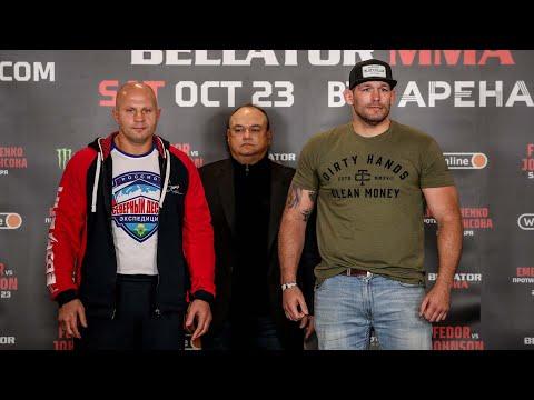 Bellator 269: Press Conference | Fedor Emelianenko vs. Tim Johnson