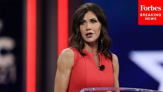 JUST IN: Kristi Noem rips Joe Biden in CPAC 2021 speech