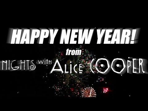 Happy New Year from Nights with Alice Cooper