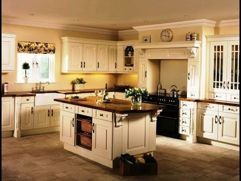 Cream Colored Kitchen Cabinets Furniture Youtube