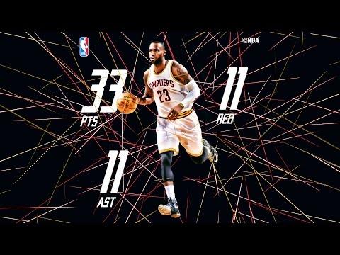 LeBron James Posts Triple-Double