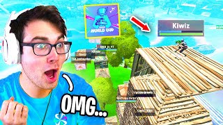 I played in the WORLD CUP THROWBACK Tournament and dominated... (Fortnite Cup)