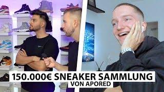 Justin reagiert auf ApoRed's 150.000€ Sneaker.. | Reaktion