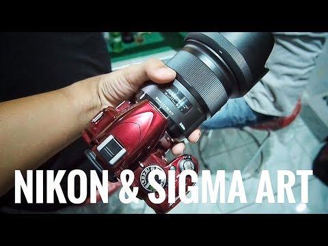 NIKON D3100 + SIGMA 50mm f1.4 DG HSM ART #VIP (eps 53)
