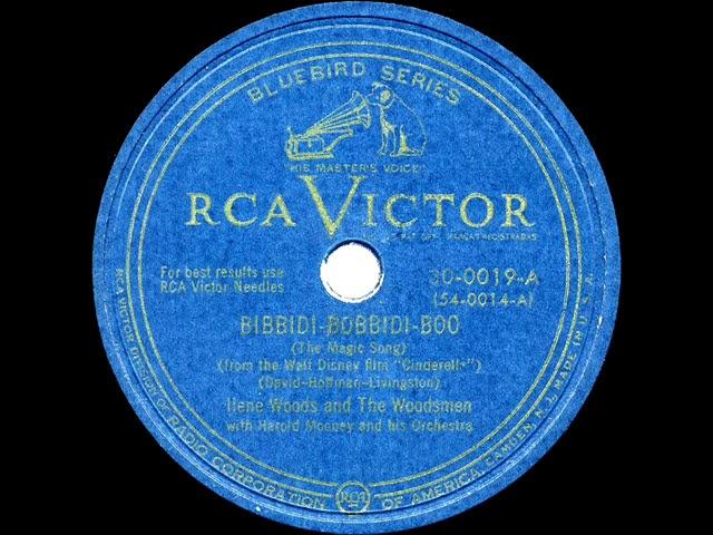 1949 Ilene Woods - Bibbidi-Bobbidi-Boo (commercial single version) - YouTube