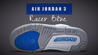 AIR JORDAN 3 RETRO GS 'RACER BLUE'
