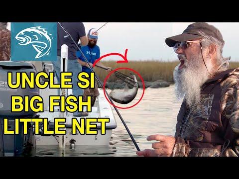 Uncle Si Redfishing BREAKS NET   Commander Life   FULL EPISODE