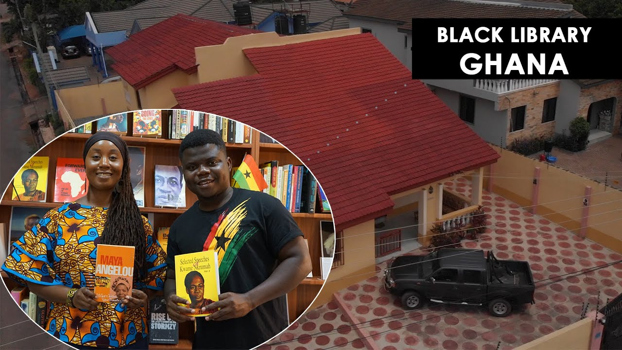 I Left The Uk To Establish Ghana's First Black Library