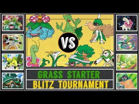 Grass Starter Tournament (Pokémon Sun/Moon) - Blitz Torunament #3