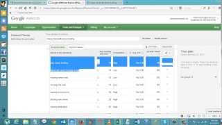 How to Find Low Competition and High CPC Keywords with Google Keyword Planner
