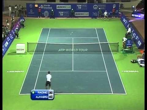 ACO 2012 - Singles SF - Raonic. M vs Almagro. N