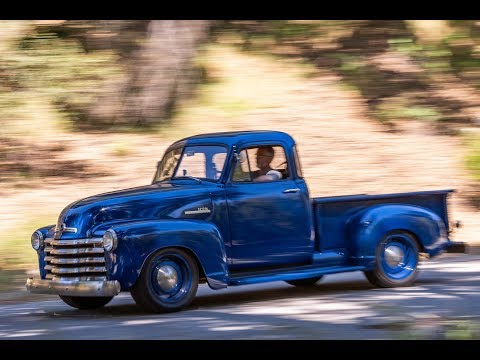 ICON Thriftmaster 1952 Chevy 3100 Five Window Final Test Drive!