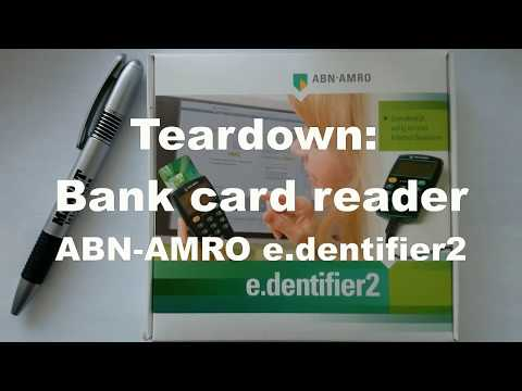 Teardown: Bank card reader ABN-AMRO e.dentifier2 (part 1)