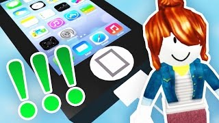 escape from the iPHONE! | Roblox - lele