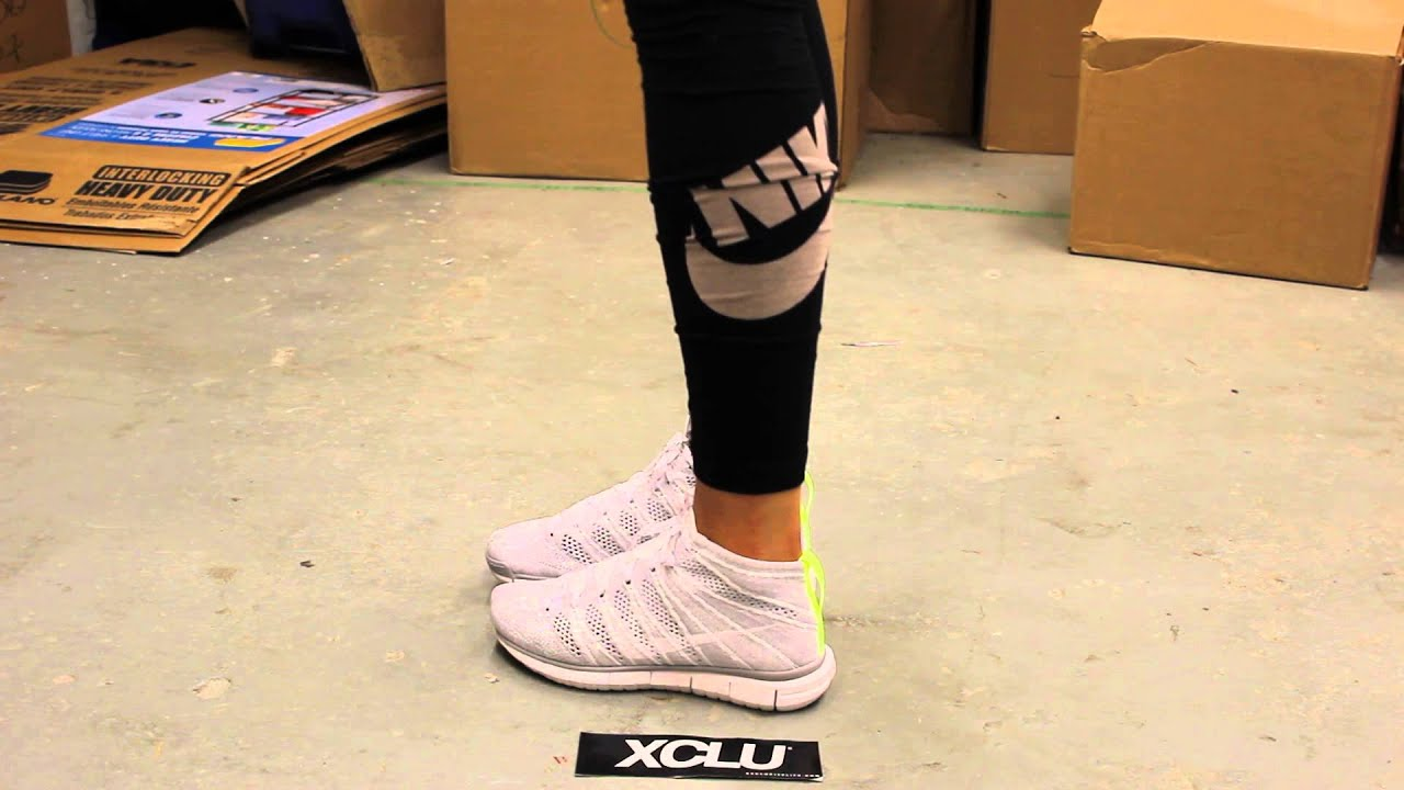 womens flyknit chukka free quotpure platinumquot on feet video