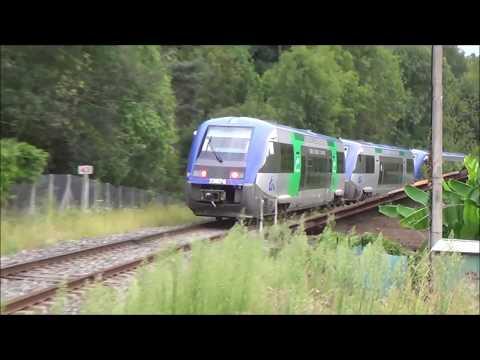 Des Trains Entre Thiers Et Clermont-Ferrand En 2018