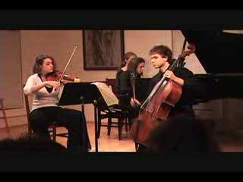 Robert Schumann Op. 80 Trio - movement 1