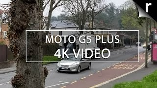 Moto G5 Plus camera video test (4K UHD 30fps)