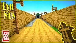 Построил выход в конечную сцену | Minecraft Evil Nun