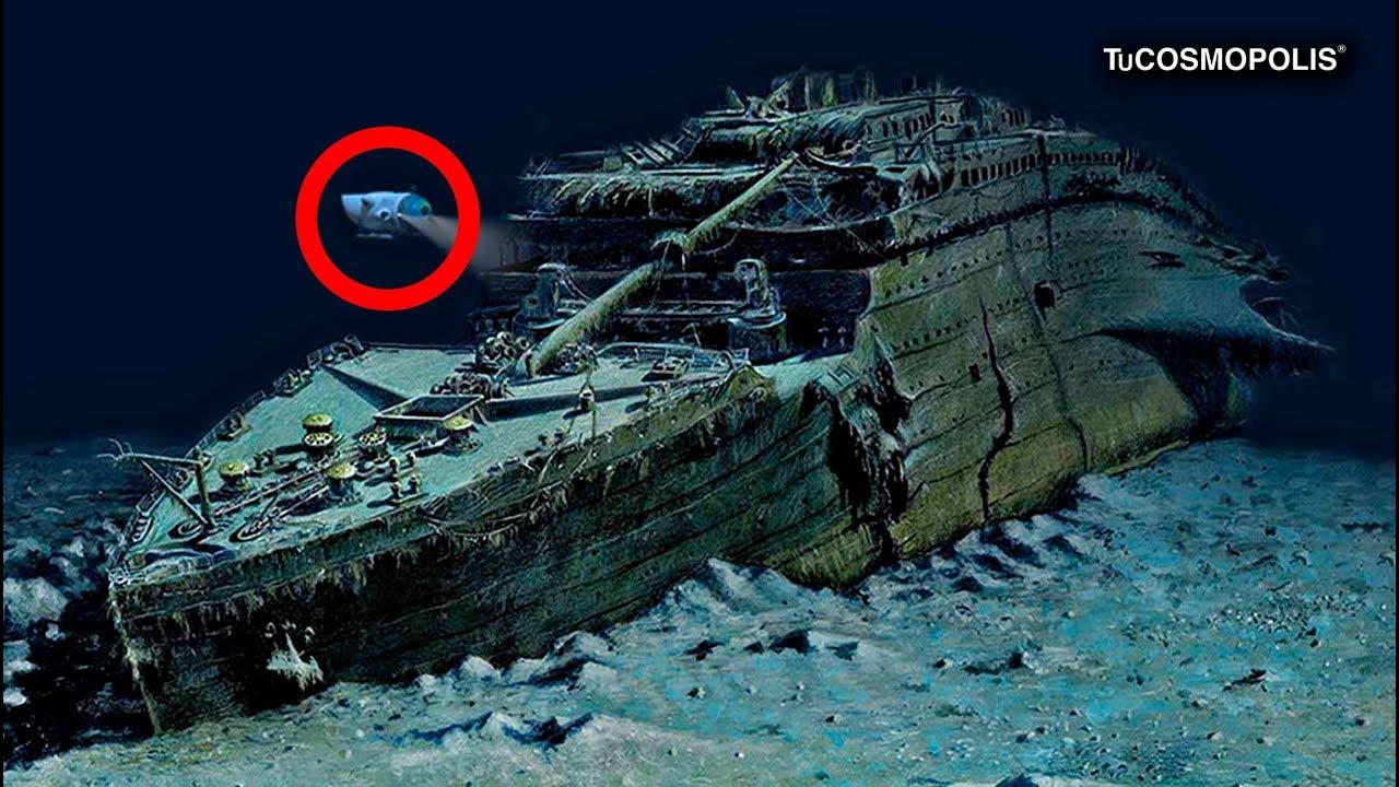 Titanic retirado del fondo del mar