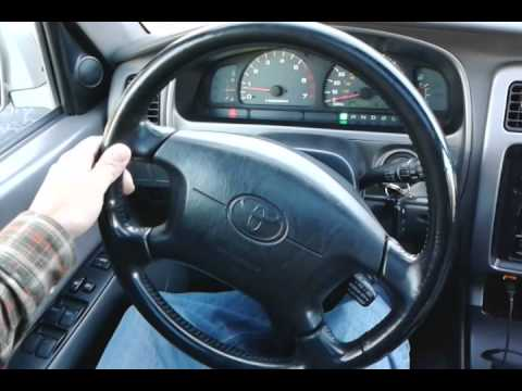 2001 4runner Steering Wheel Play Youtube