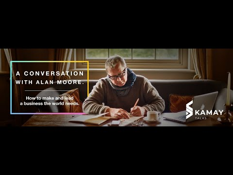 KamayTalks: A conversation with Alan Moore