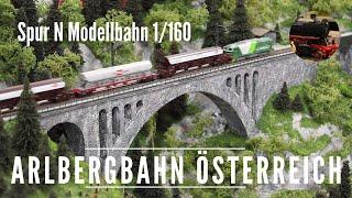 Spur N Modellbahn Arlbergbahn - spur-n.at