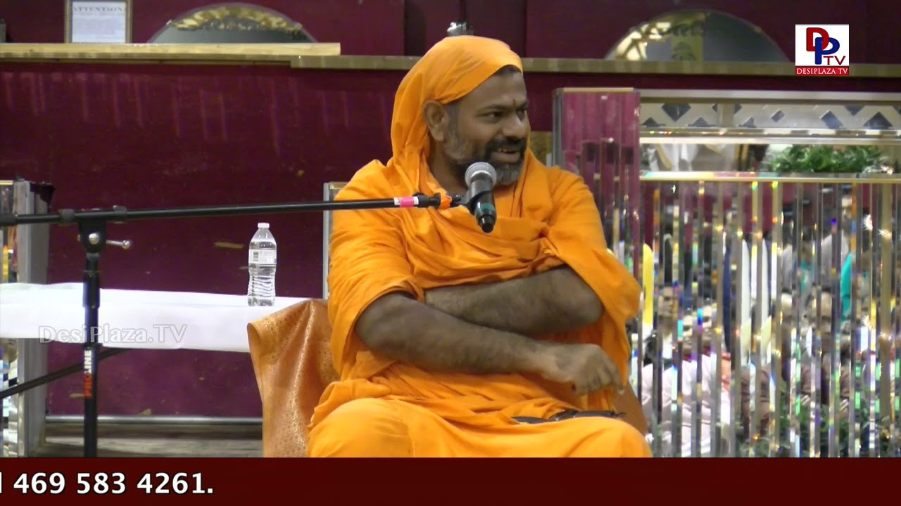 Highlights - Swami Paripoornanda Speaks - importance and significance of chanting  Bhagavat Gita