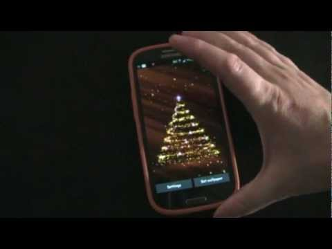 3D Christmas Live Wallpaper - Android App Review