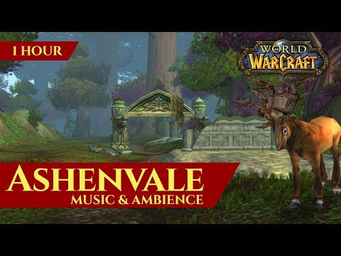Vanilla Ashenvale - Music & Ambience (1 hour, 4K, World of Warcraft Classic)