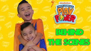 Behind The Scenes Nickelodeon Calvin Kaison's Play Power PART 2 CKN