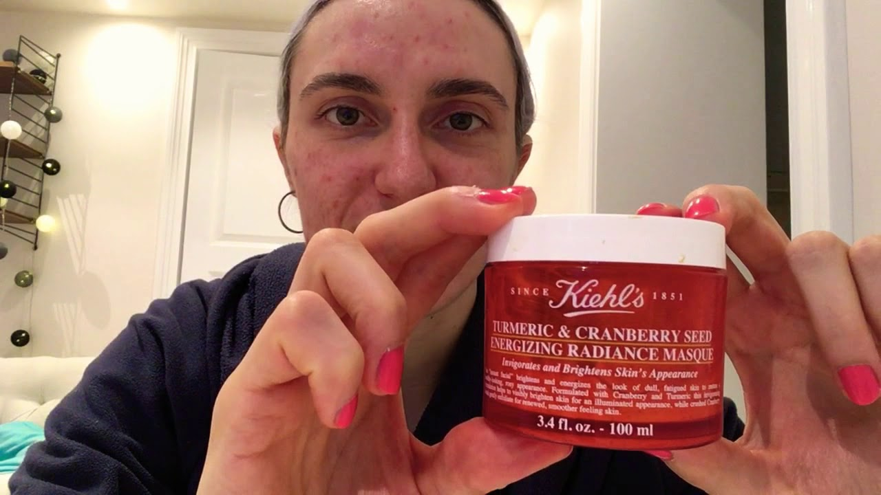 KIEHL' S Turneric & Cranberry Seed Energizing Radiance Masque REVIEW