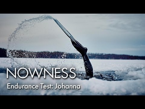 Johanna Under The Ice: Freediver Johanna Nordblad on the acc