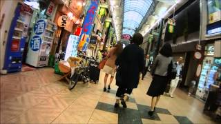 Tenjinbashisuji shotengai, Osaka, Japan