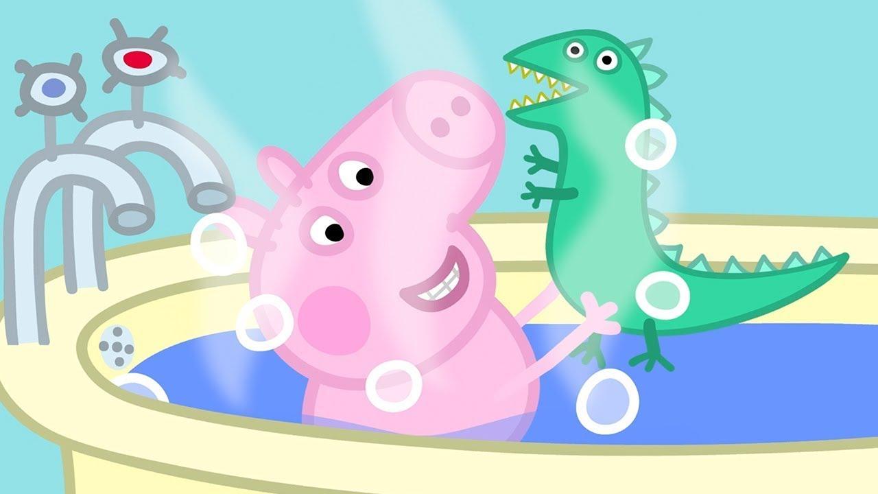 Peppa Pig in Hindi - Mr Dinosaur kho gaye - Hindi Cartoons for Kids
