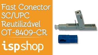 Tutorial de Montagem Conector SC/UPC - Reutilizável