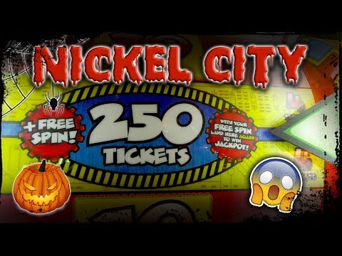 Ticket jackpots so good it's SPOOKY! Halloween ticket game fun at Nickel City arcade!