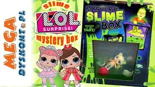Mystery Slime Box  LOL Surprise  Challenge  Monia i Agatka