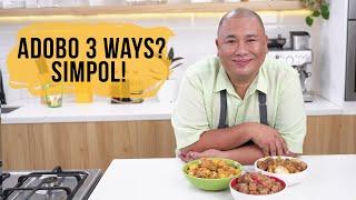 Adobo 3 ways, SIMPOL!