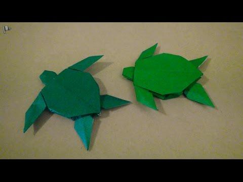 Origami Turtle (Robert J. Lang) - YouTube | 360x480
