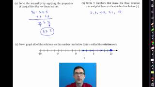 Common Core Algebra I.Unit #2.Lesson #9.Solving Linear Inequalities