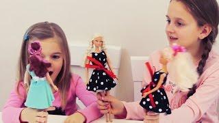 як зробити іграшки для барбі своїми руками