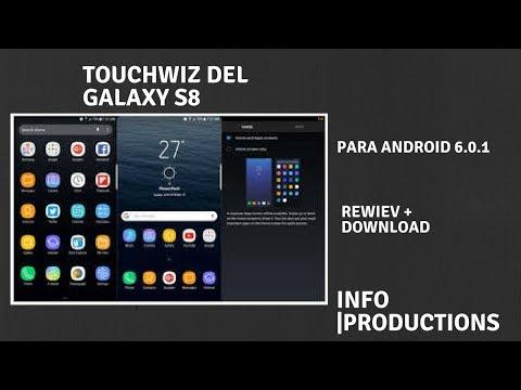 TOUCHWIZ S8 para android 6.0.1 | Launcher oficial de Samsung (leer descripción) App S8 Music player