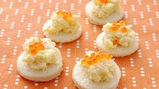 【楊桃美食網】創意PARTY點心-鮭魚蛋堡