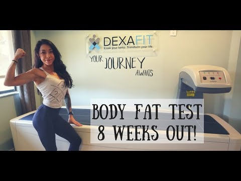 Body Composition Test 8 Weeks Out! Episode 9