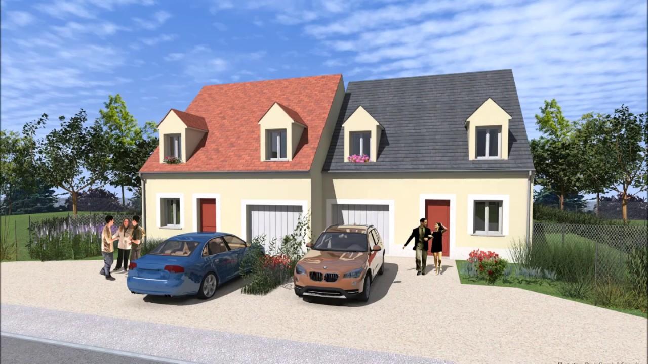 natilia natigreen maison avec acrotere et patio interieur maison natilia prix natilia angers. Black Bedroom Furniture Sets. Home Design Ideas