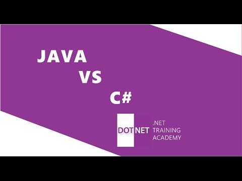 Java vs C# in 2017