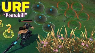 10 Minutes BEST URF MOMENTS 2020 (Qiyana ULT outplay, URF Tryndamere pentakill...)