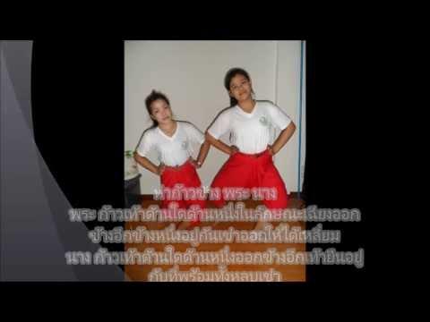 รายวิชาทฤษฏีเอกนาฏศิลป์ไทย ม.6 ปี 56(ท่าเบื้องต้นนาฏศิลป์ไทย)