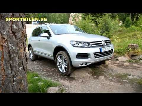 VW Touareg 2011 test drive off road